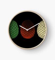 Dragon Eggs Clock