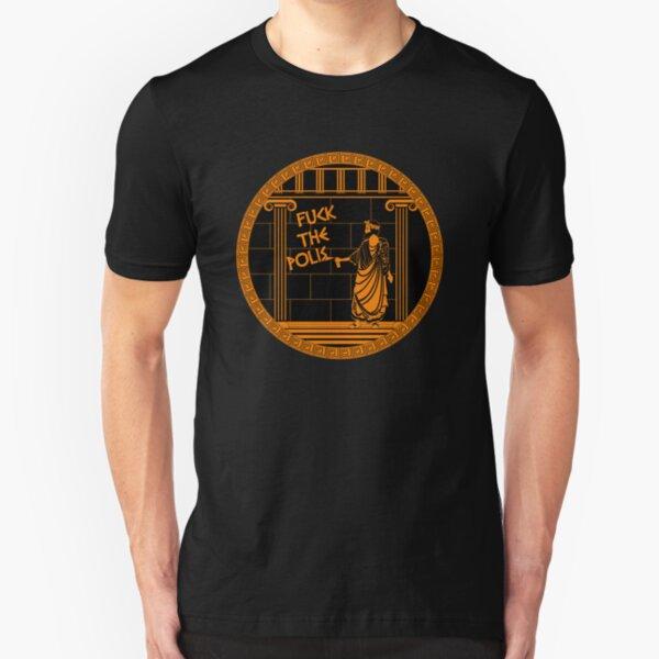 Fuck the Polis Slim Fit T-Shirt