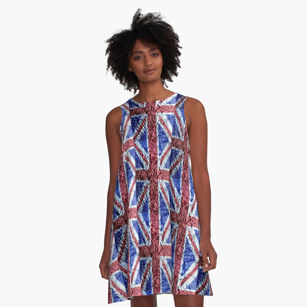 The Union Jack A-Line Dress