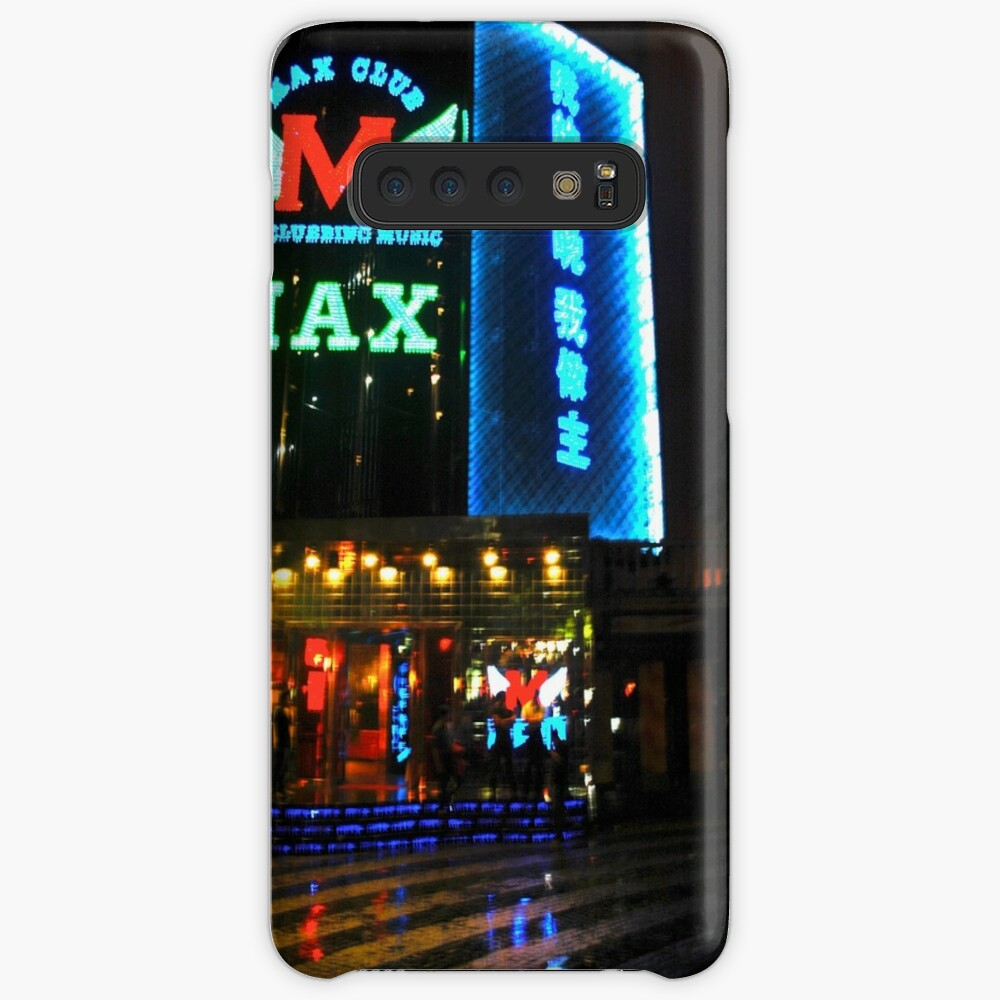 Coque et skin adhésive Samsung Galaxy « CHINA OF THE LIGHT : Max Club»