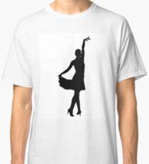 Latin dancer silhouette Classic T-Shirt