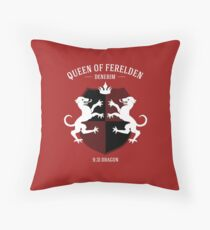 Dragon Age - Queen of Ferelden Throw Pillow