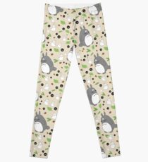 My Neighbour Totoro Pattern - Colour! Leggings