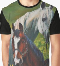 Horses Graphic T-Shirt