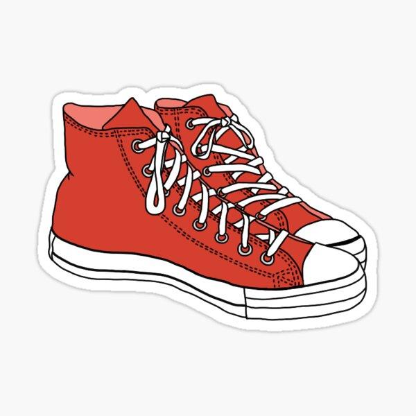 Colorado State Flag Hiking Shoe Die-Cut Sticker