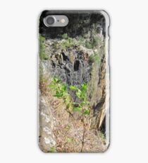 Looking over the Edge! Purling Brook Falls, Springbrook. Qld. iPhone Case/Skin