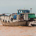Mekong Boats 5 by Werner Padarin