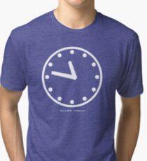 11:47pm CST Tri-blend T-Shirt