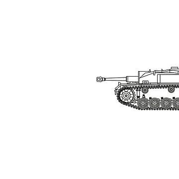 StuG Life - Military History Visualized (Horizontal Version) by mhvis