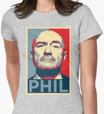 phil Womens Fitted T-Shirt
