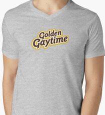 Golden Gaytime Men's V-Neck T-Shirt