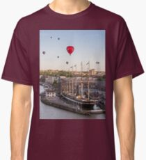 Balloons over the SS Great Britain in Bristol Classic T-Shirt