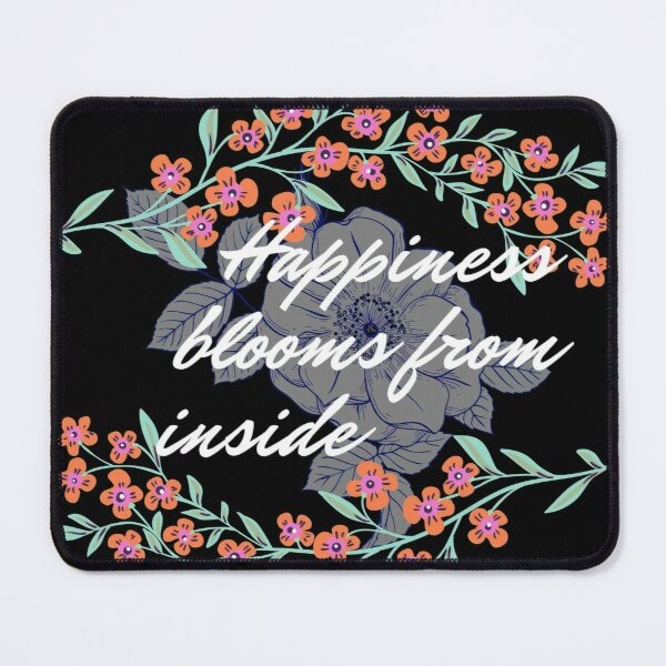 inner happiness Mouse Pad