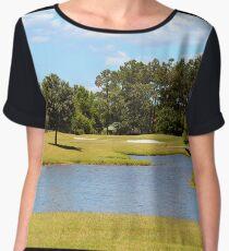 Golf Course Beauty Women's Chiffon Top