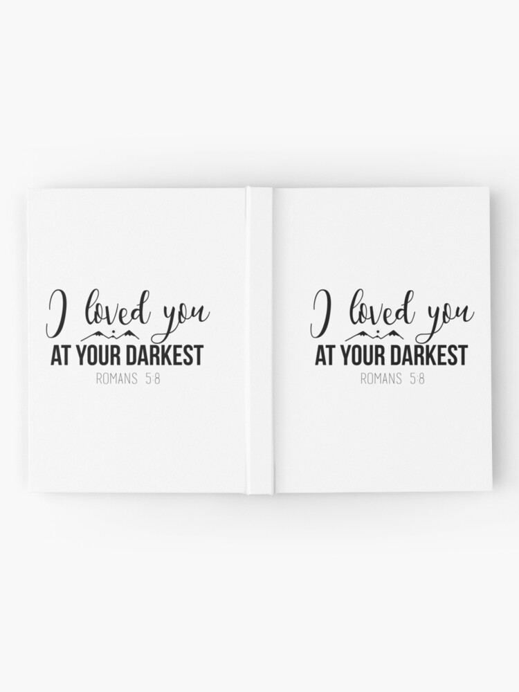 Alternate view of Christian Quote Hardcover Journal