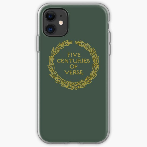 Five Centuries of Verse (Ochre) iPhone Soft Case