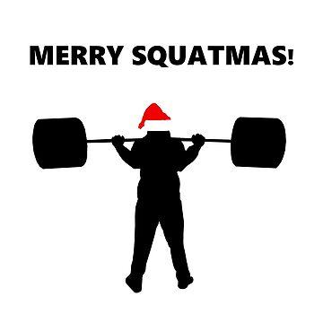 Merry Squatmas by jhguitars