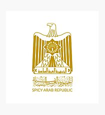 Spicy Arab Republic - Coat of Arms Photographic Print