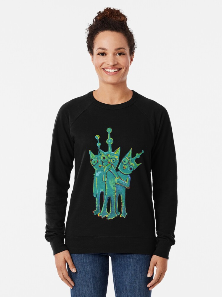 Alternate view of Sadworld Painting - 2014 Lightweight Sweatshirt