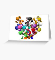Yoshi Fever Greeting Card