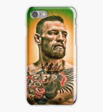 mcgregor iPhone Case/Skin
