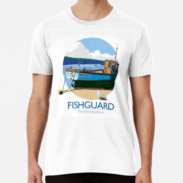 Fishguard fishing boat roundel Premium T-Shirt