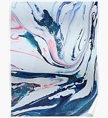 pastel swirl Poster