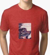 Pastel swirl 2 Tri-blend T-Shirt