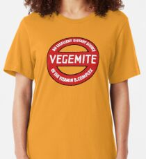 Vintage Vegemite Slim Fit T-Shirt