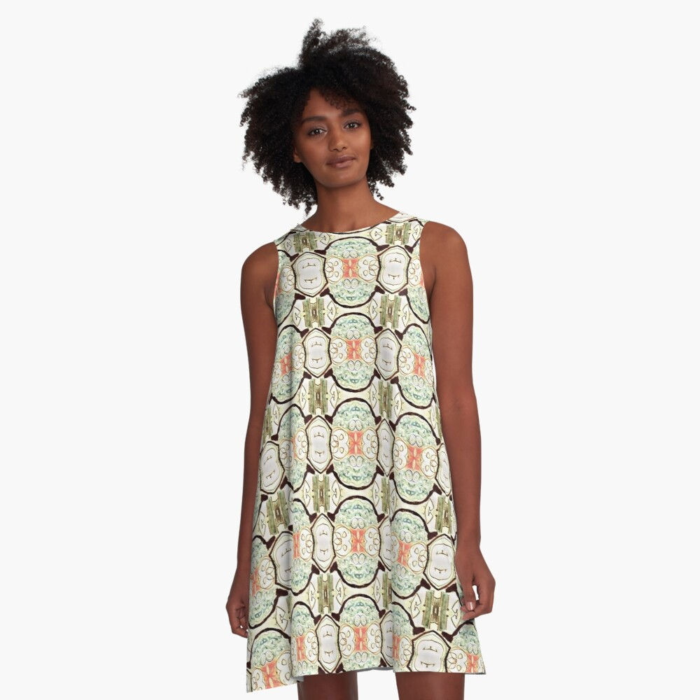 Retroactive Kid Vibes A-Line Dress Front