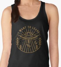 I Want To Leave Women's Tank Top