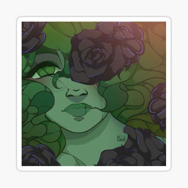 Haunted Garden Rose Sticker