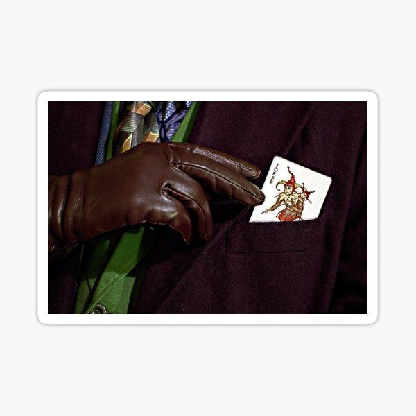 Here's my card Sticker
