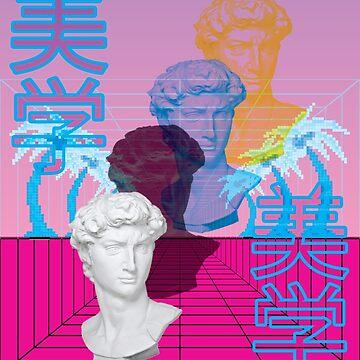 Perspective Vaporwave by KinKAPI