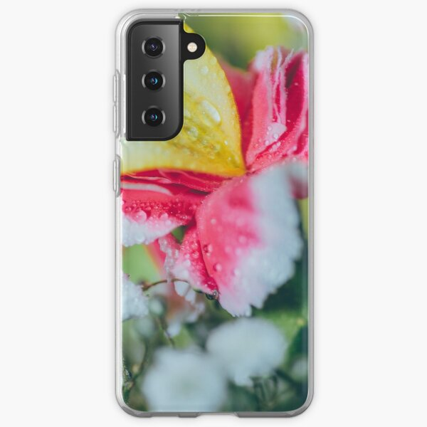 Rainy flowers Samsung Galaxy Soft Case