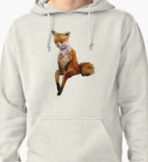 Stoned fox the Taxidermy Fox Meme Pullover Hoodie