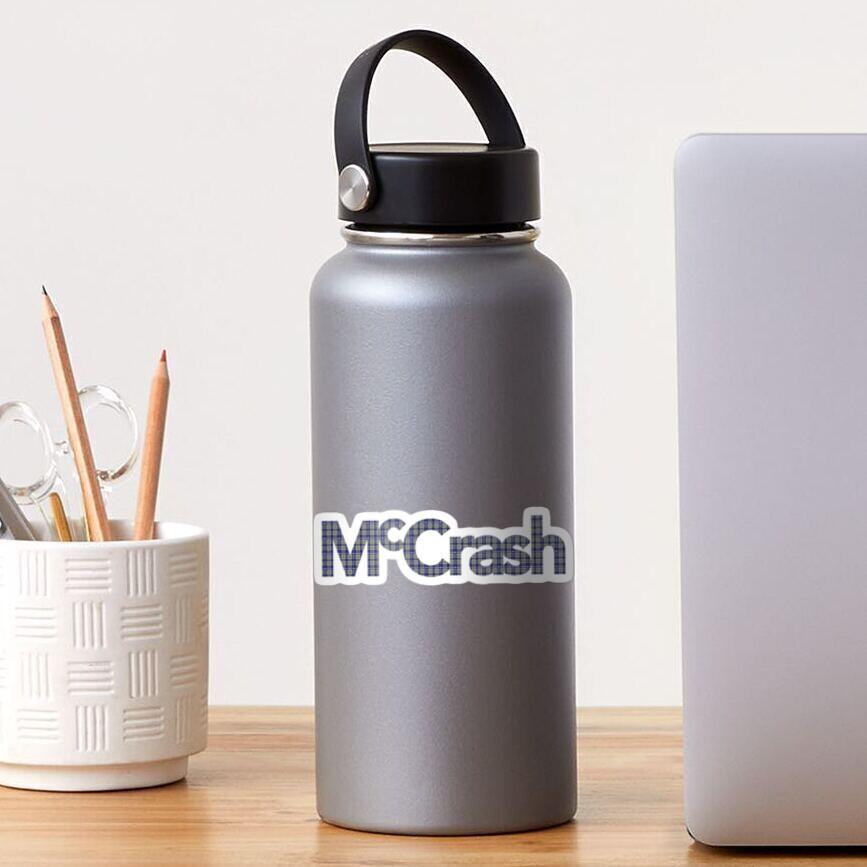 McCrash Sticker