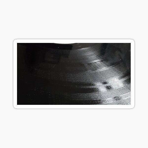 Vinyl Record Closeup Sticker