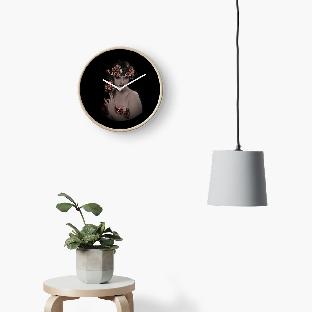 Louise Fairy Muse Clock