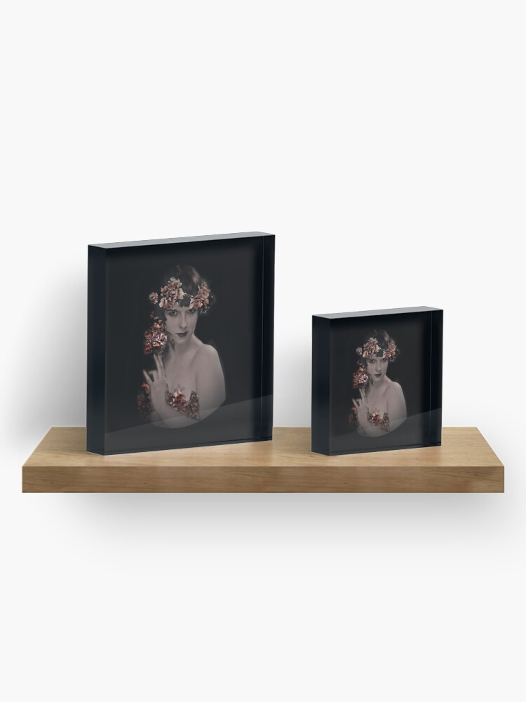 Alternate view of Louise Fairy Muse Acrylic Block