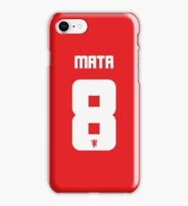 Juan Mata - No.8 Phone Case iPhone Case/Skin