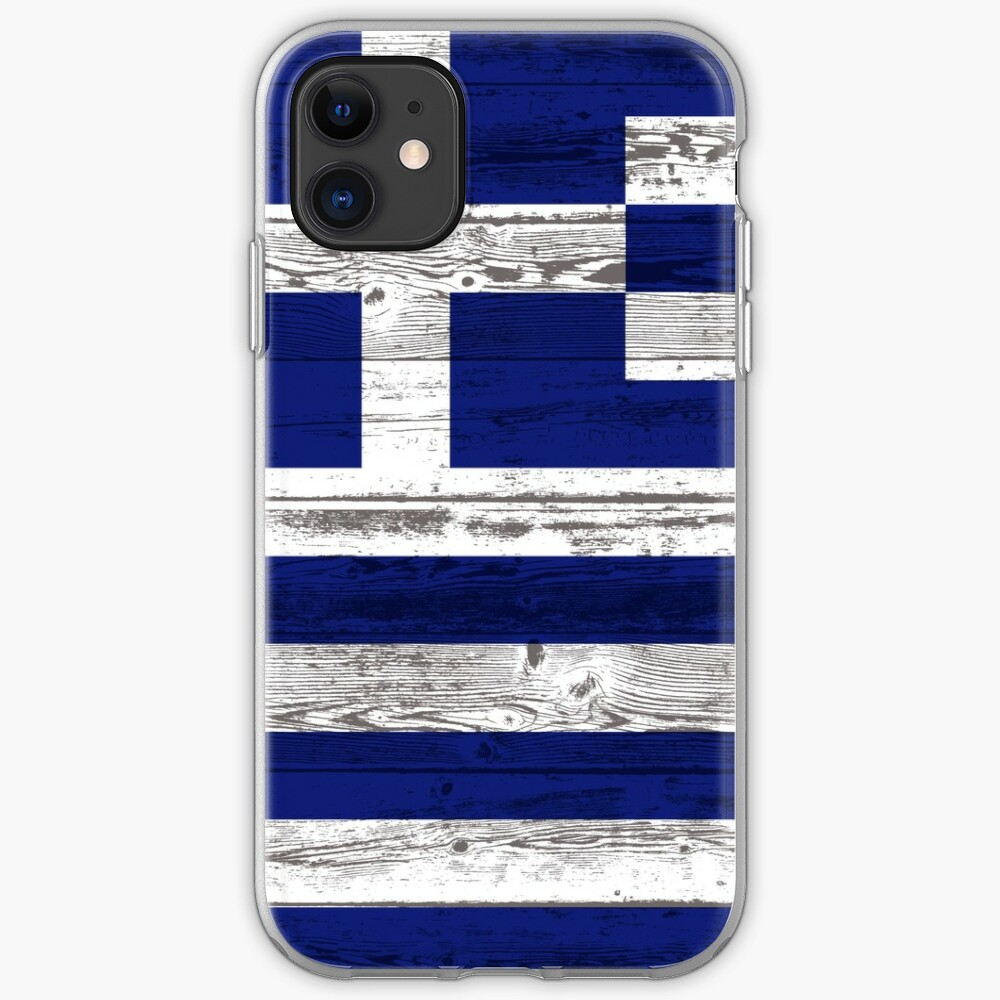 Greece flag iPhone Case & Cover