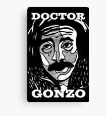 Doctor Gonzo Canvas Print