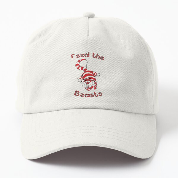 Holiday Feed the Beasts- Designed by Jonathan Grimm Art Dad Hat