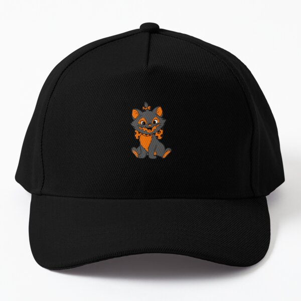 Hallokitty- Feed the Beasts Halloween (Designed by Jonathan Grimm Art) Proceeds Help Rescue Cats! Baseball Cap