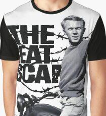 Steve McQueen The great escape TRIUMPH TR6 Moto Graphic T-Shirt
