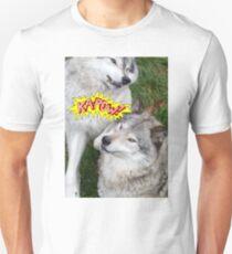 Wolves at play - Timber Wolf T-Shirt
