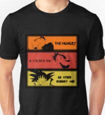 Hungry teammates!Naruto, One Piece, Dragon Ball T-Shirt