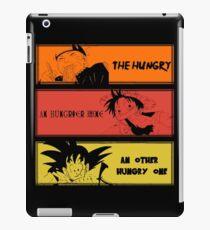 Hungry teammates!Naruto, One Piece, Dragon Ball iPad Case/Skin