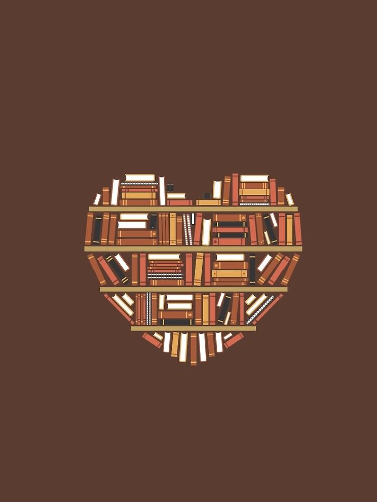 I Heart Books by renduh